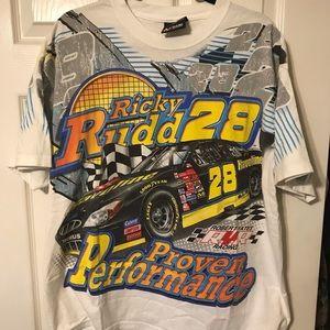 Ricky Rudd nascar shirt